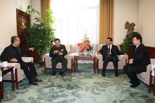 贾庆林主席接见